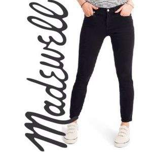 """MADEWELL 9"""" High Rise Skinny Stretchy Jeans 29"""